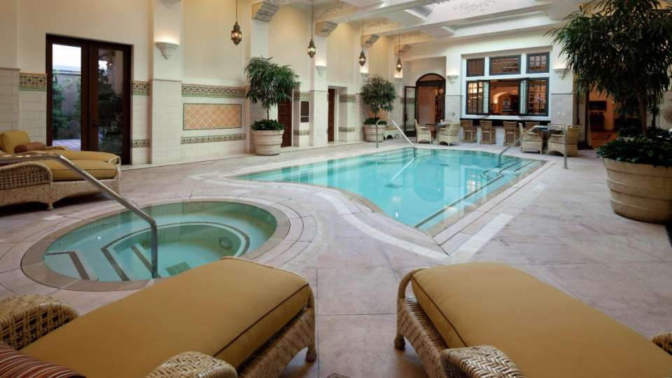 Indoor Pool at The Mansion at MGM Grand