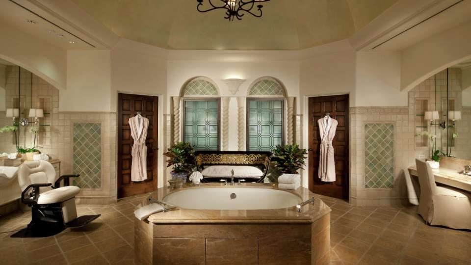 Spa Tub Bathroom at The Mansion at MGM Grand