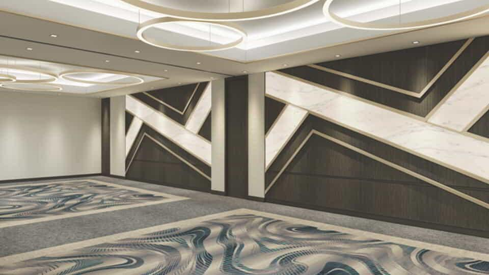 MGM Grand Conference Center Interior Rendering.