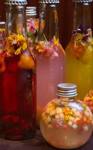 Stay Well Spritz or infused water available on the Stay Well Meetings Catering Menu at MGM Grand