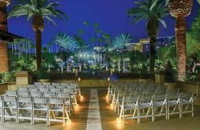 MGM Grand Weddings MGM Grand Pool Overview View