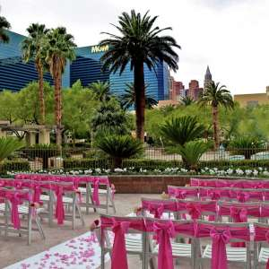 MGM Grand Wedding Venue Terraza