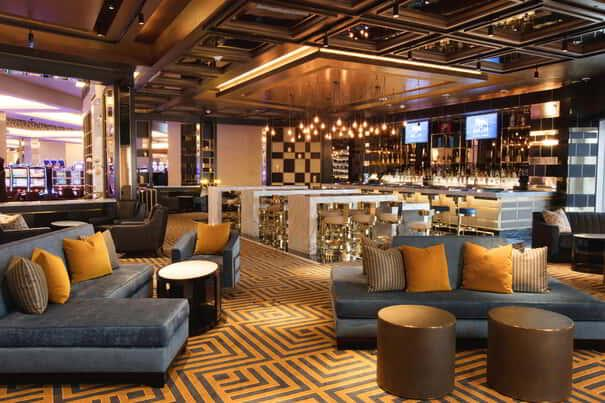 Felt is located in the heart of the casino floor.