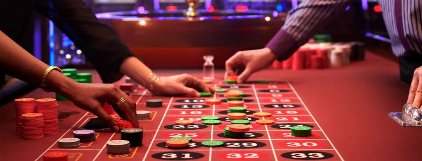 The table games of MGM National Harbor create a inviting and exciting atmosphere.