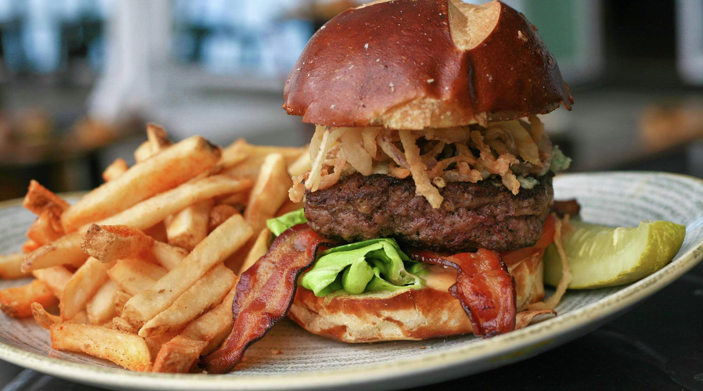 Try our delicious Butcher Burger at TAP.