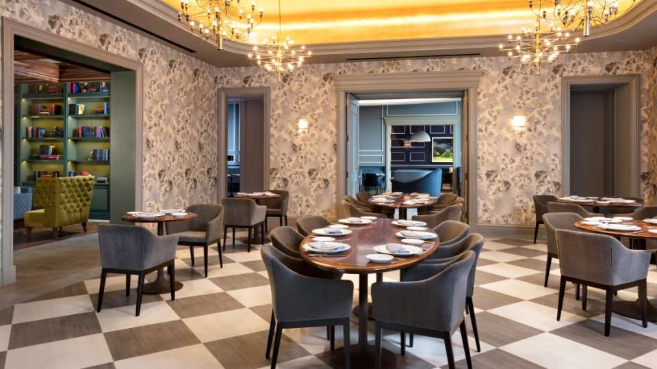 Voltaggio Steak House features fine dining from Top Chef stars Bryan and Michael Voltaggio.
