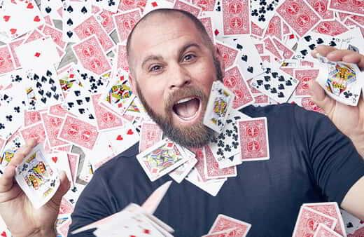 Jon Dorenbos, known his NFL career and his successful run on America's Got Talent, brings his magic to The Theater.