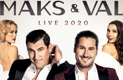 Maks & Val perform at The Theater.