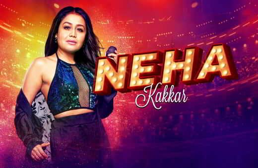 Neha Kakkar performs at The Theater.