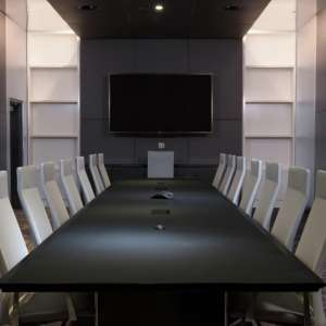 Elevate your next meeting at the Mirage boardroom.