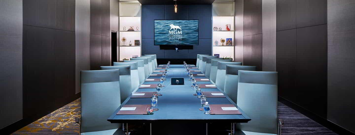 The Mirage Boardroom at MGM National Harbor.