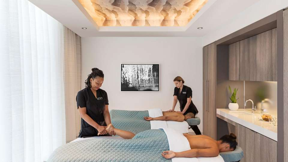 Couples Massages available at The Spa at MGM National Harbor.