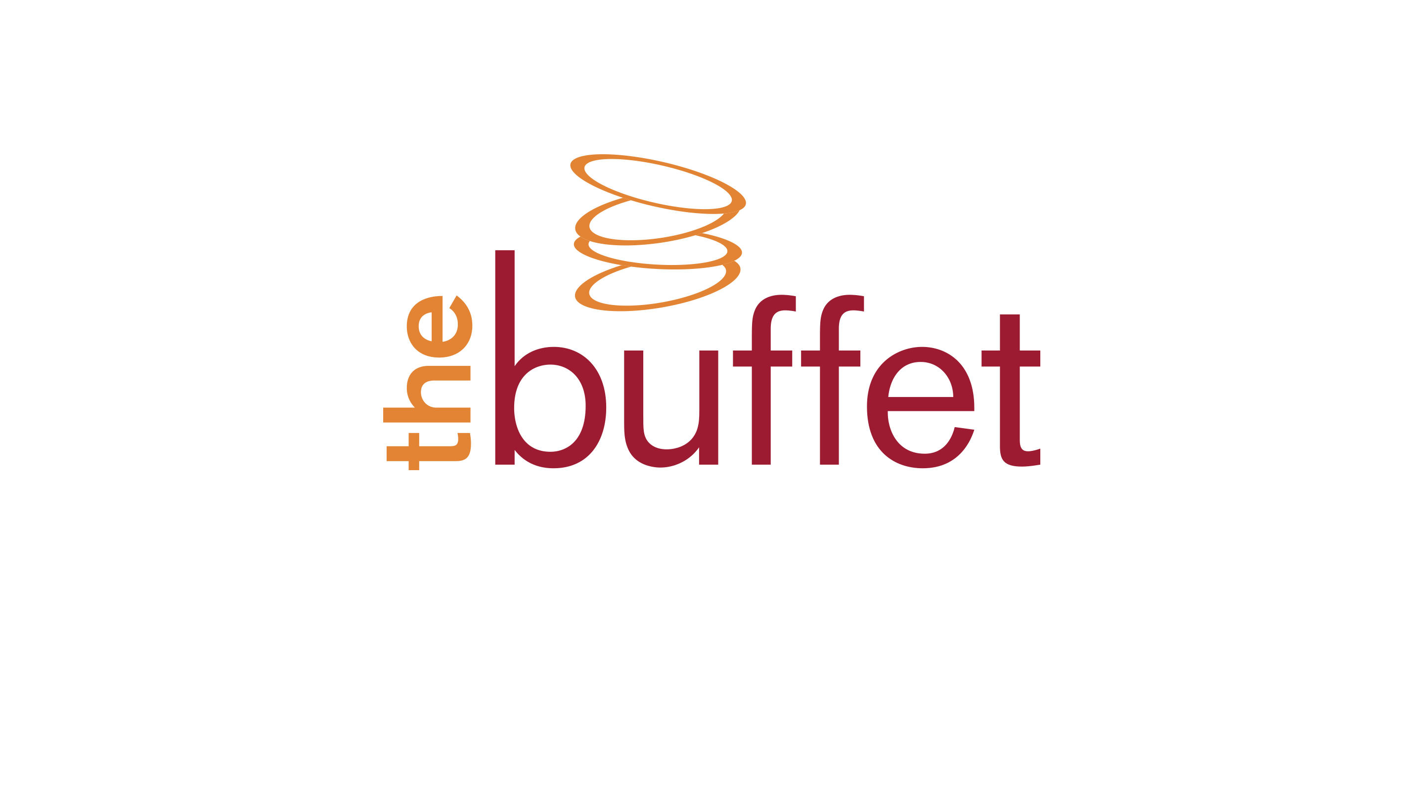 Logo for the buffet on white.