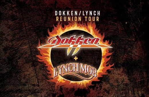 Dokken + Lynch Mob is performing at Center Stage inside MGM Northfield Park.