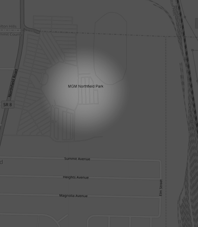 mgm_northfield_park_map