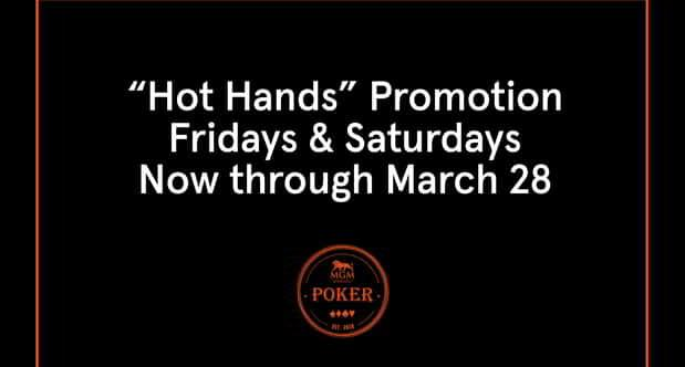 Graphic for Hot Hands Promotion
