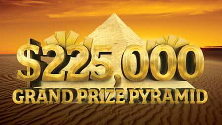 Grand Prize Pyramid Promotional Graphic