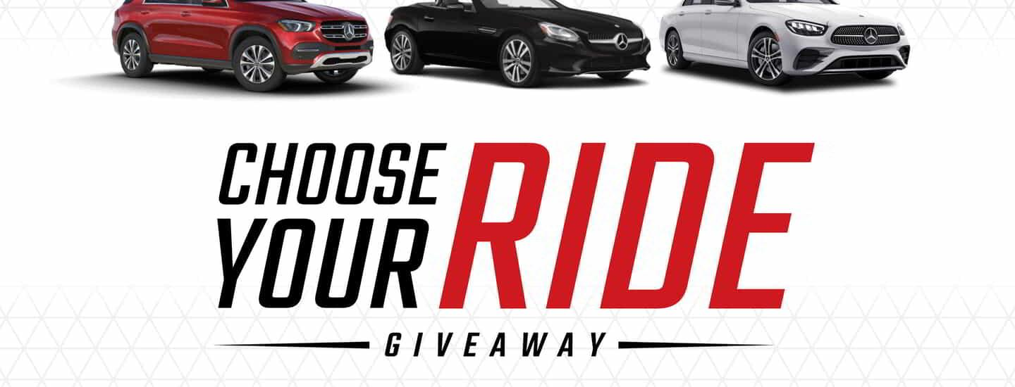 Choose Your Ride Giveaway