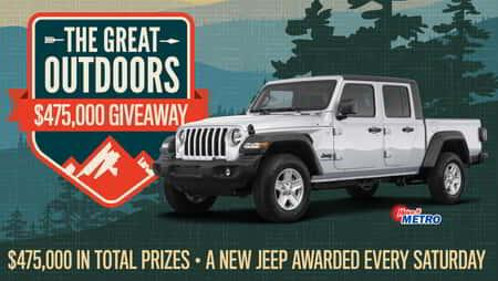 Great Outdoors Giveaway Promotion