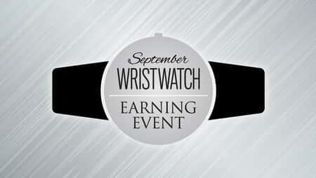 September Wristwatch Promotional Graphic