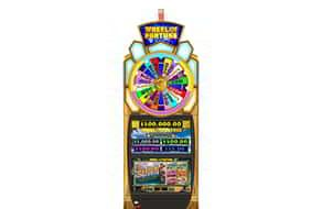 The Hawaiian Getaway wheel of fortune slot machine.