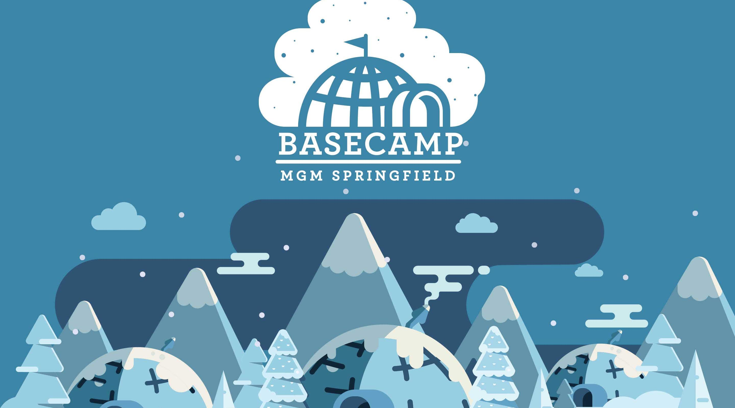 Basecamp igloos are coming to TAP at MGM Springfield.