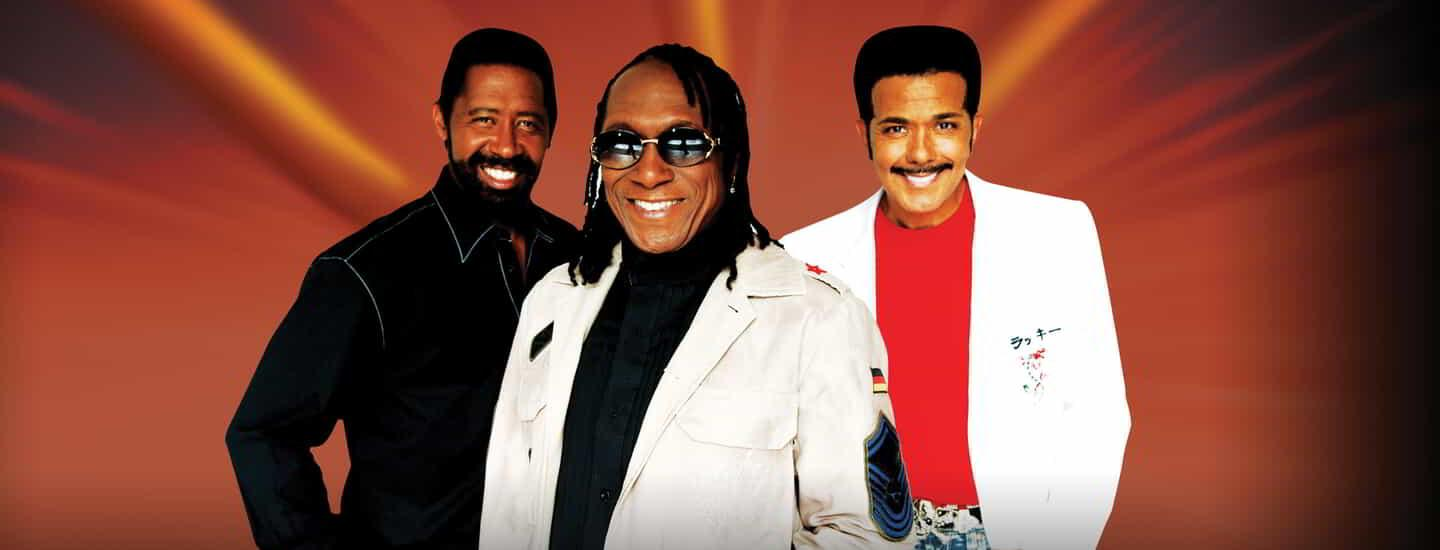 The Commodores are performing in the Aria Ballroom inside MGM Springfield.