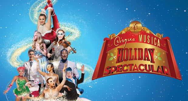 Cirque Musica Holiday Spectacular is coming to Symphony Hall at MGM Springfield.