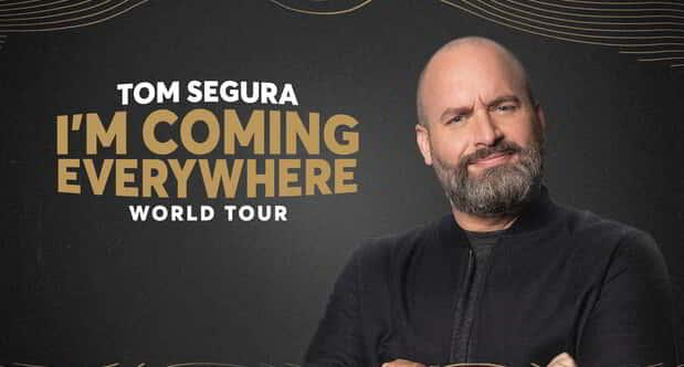 Tom Segura is performing inside Symphony Hall at MGM Springfield.