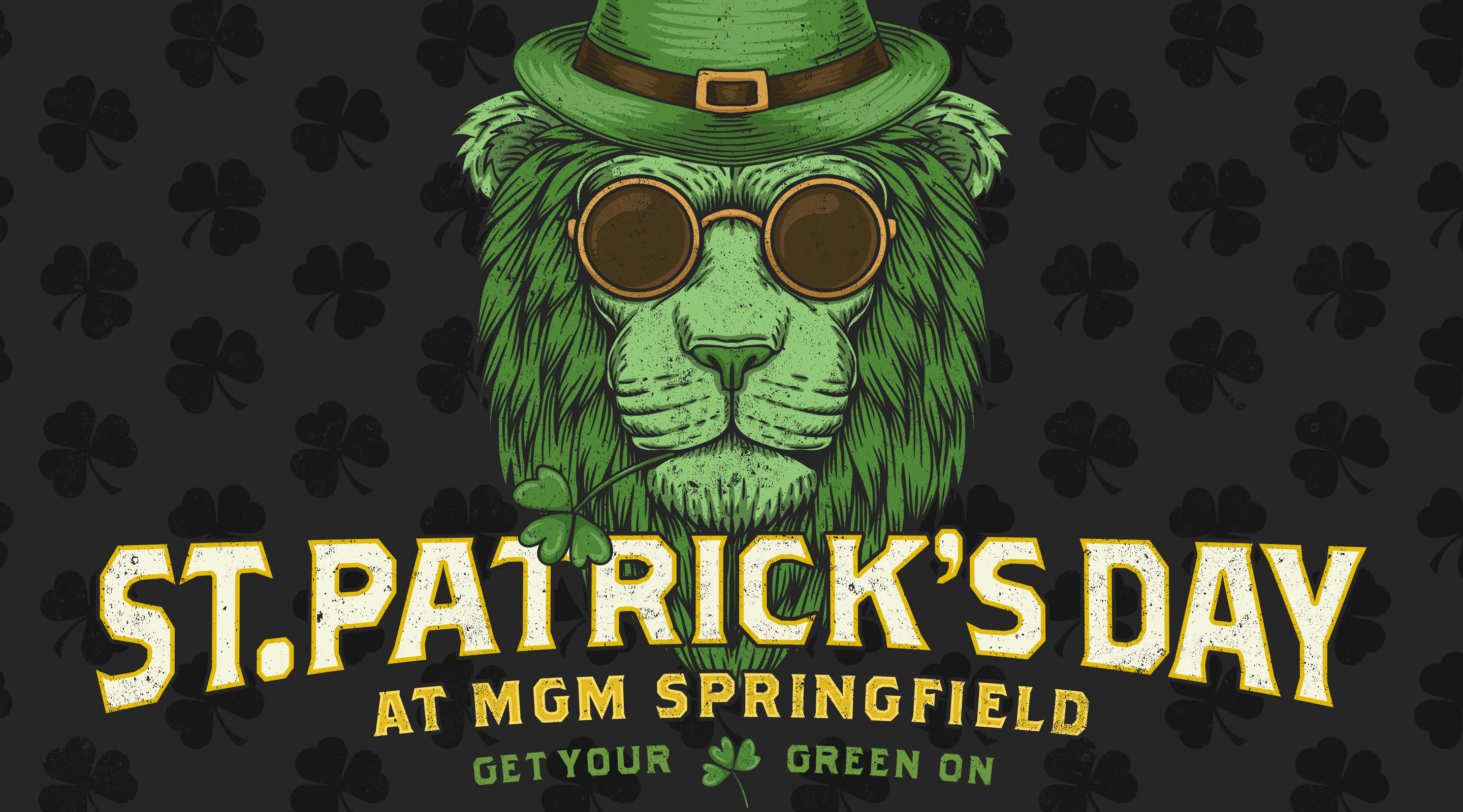 St Patrick's Day Celebrated on March 14 at MGM Springfield.