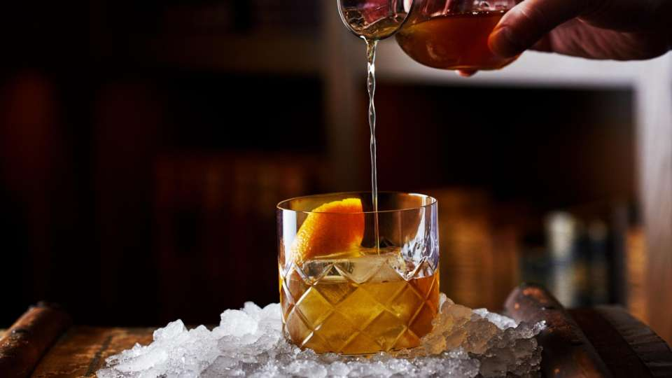 Old Fashions are a classic go to.