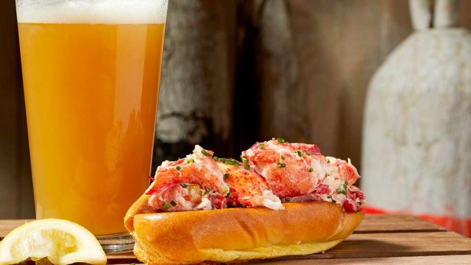 Lobster Shack is known for it's Lobster rolls.