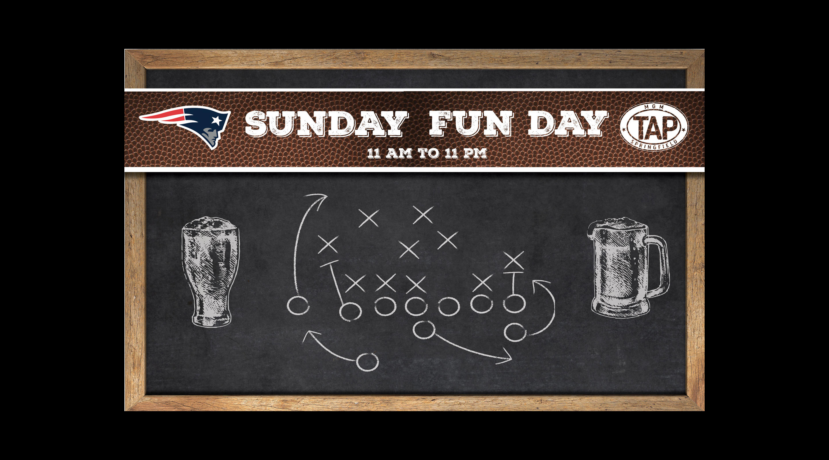 TAP Sunday Funday event.