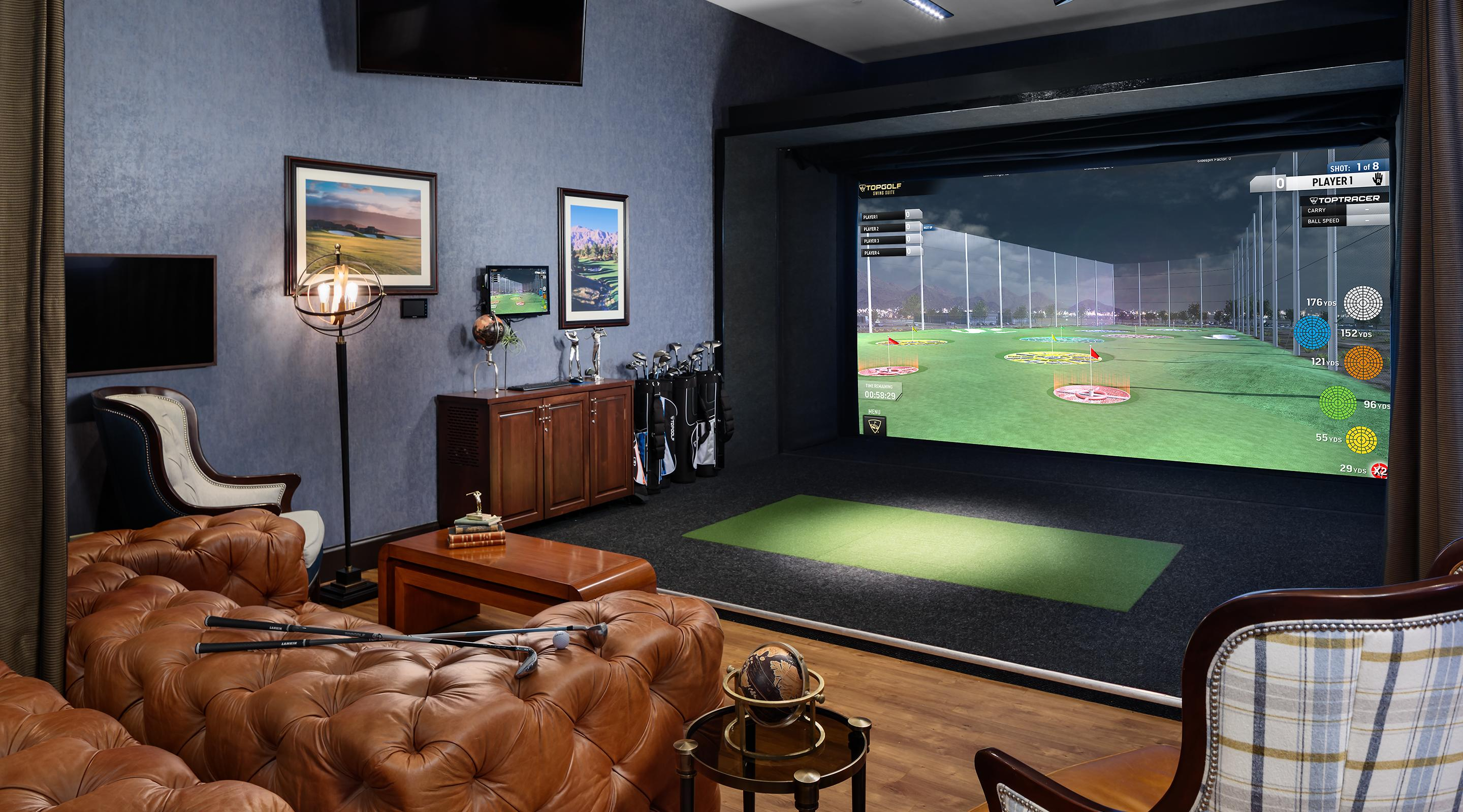 TopGolf Interior.