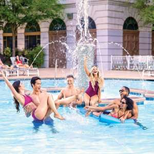 Have a blast with your friends at the pool!