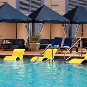 Pools and Cabanas at New York-New York