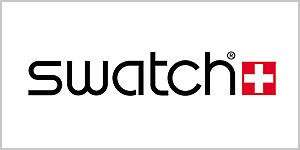 This is a logo for Swatch.