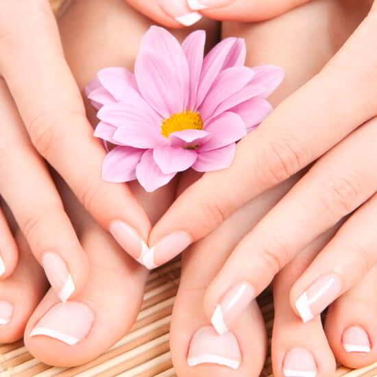 Have a pampering pedicure in our Salon.