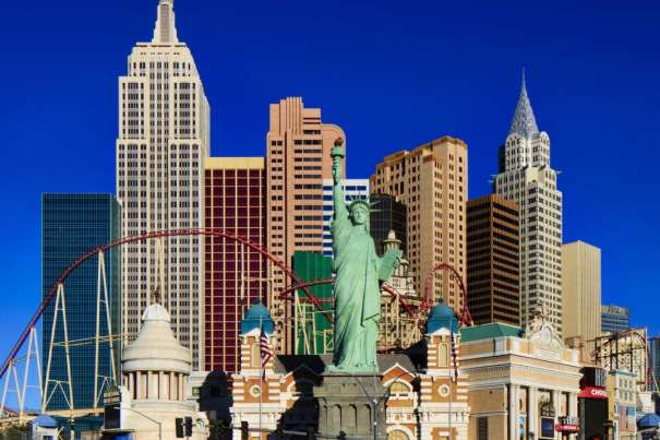 Enjoy a piece of the Big Apple at New York-New York.