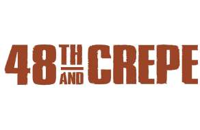 The logo for 48th and Crepe