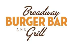 The logo for Broadway Burger Bar.