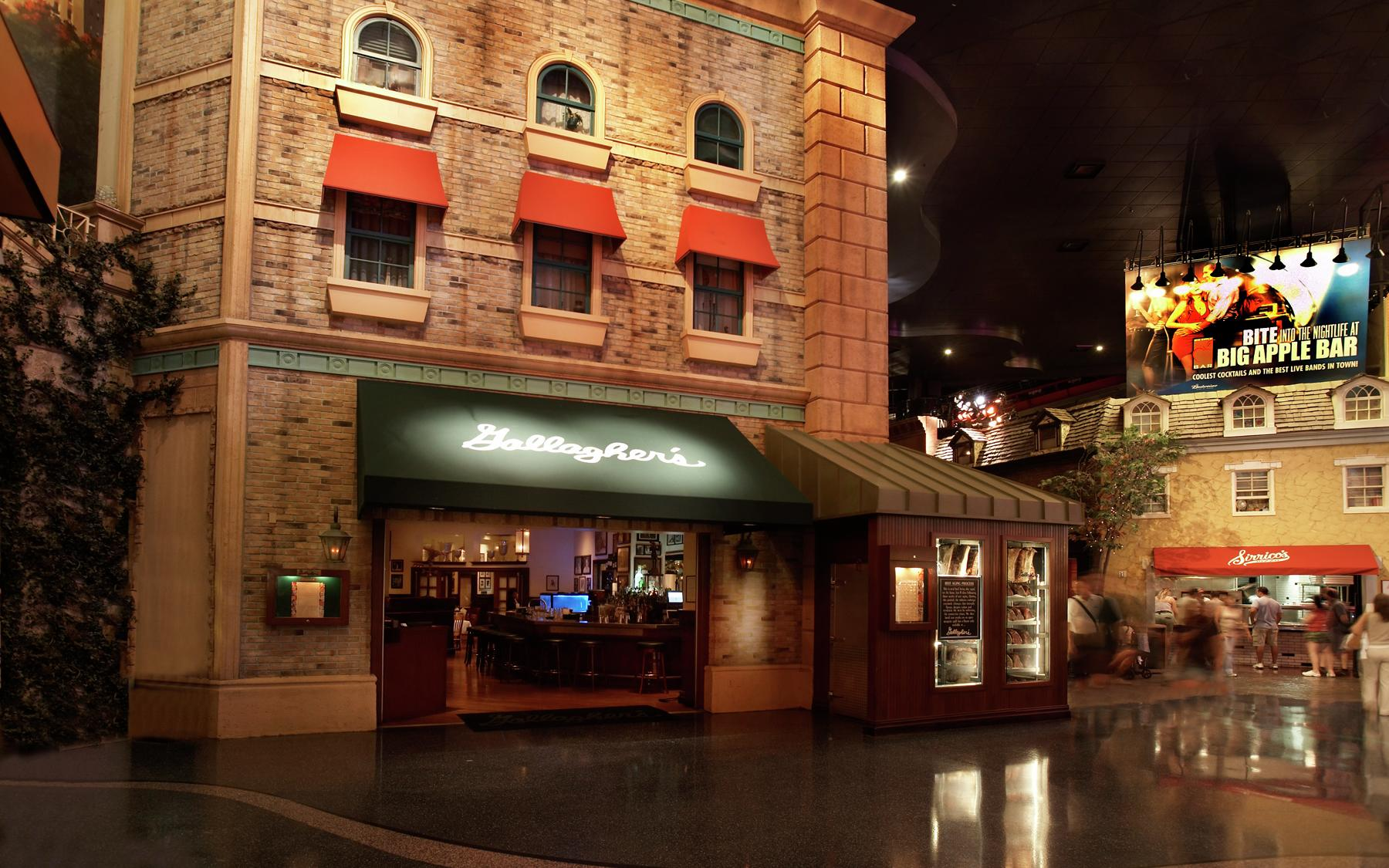 Enjoy the finest dry-aged beef and fresh seafood at Gallagher's Steakhouse, a New York City original since 1927.