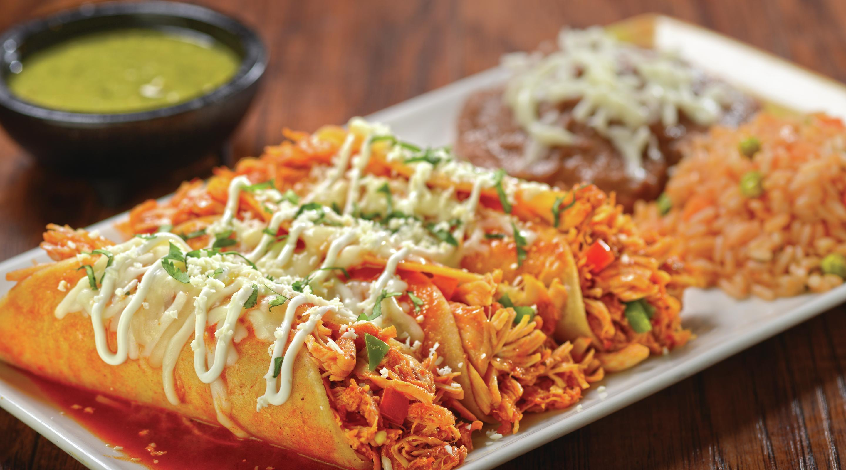 Spicy Southwestern fare can be yours at Gonzalez Y Gonzalez, featuring an authentic tequila bar
