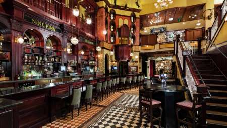 Inspired by a group of extraordinary Irishmen who led lives of great adventure, this is a pub of epic proportions that was built in Ireland and shipped to the heart of Las Vegas!