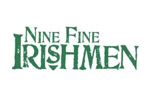 The logo for Nine Fine Irishmen