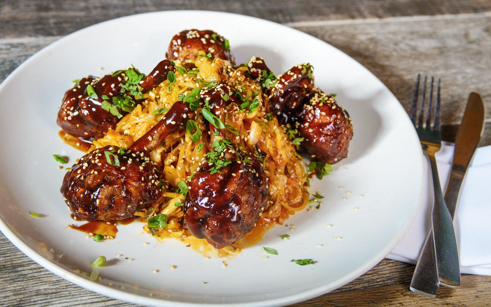 Asian Chicken Lollipops