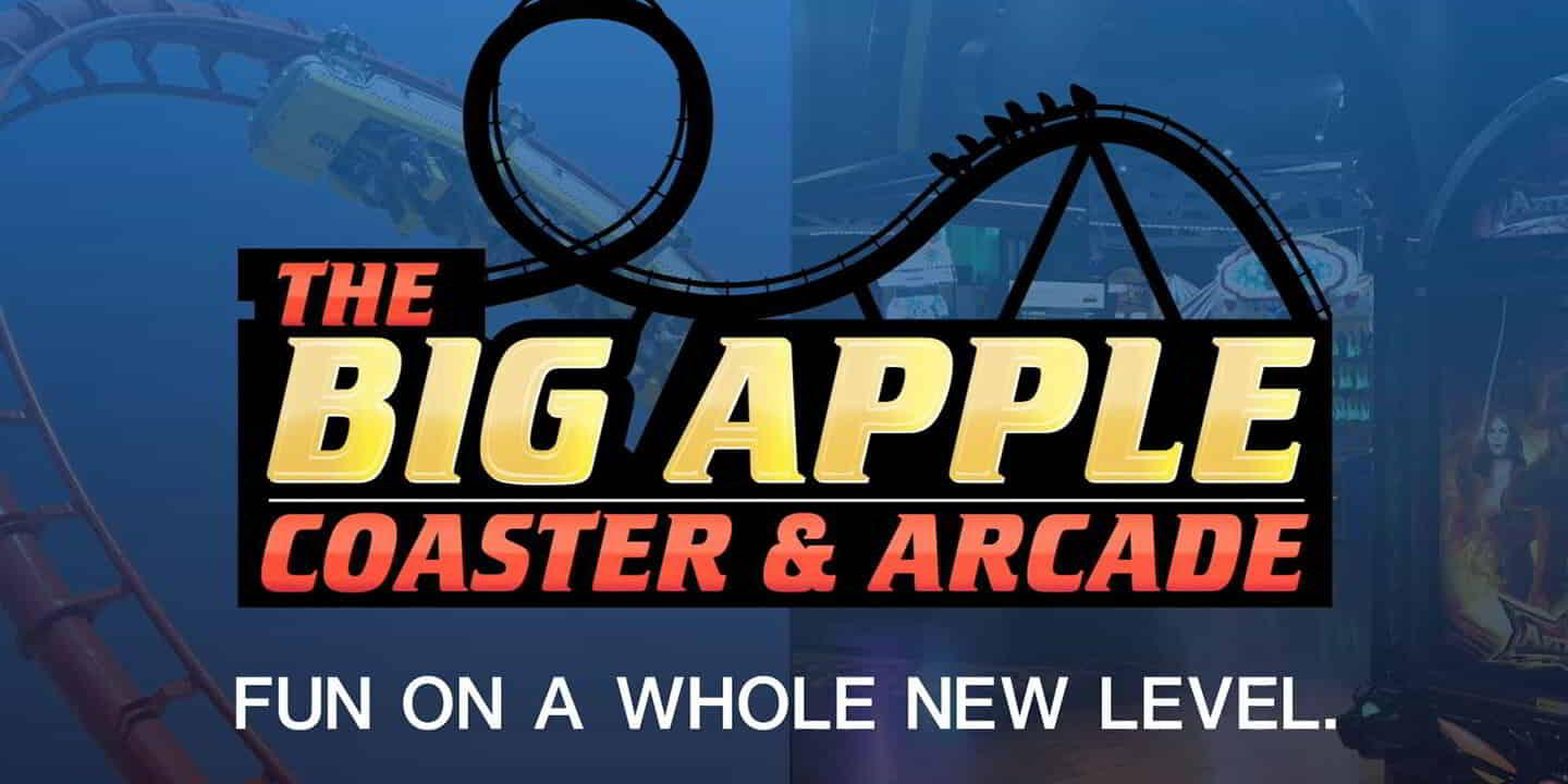 The preview image of The Big Apple Arcade and Roller Coaster at New York-New York.