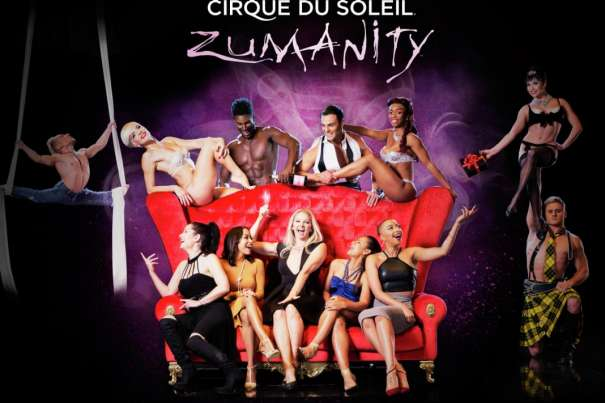 Get naughty with tickets to Zumanity, for the Bride-to-Be!