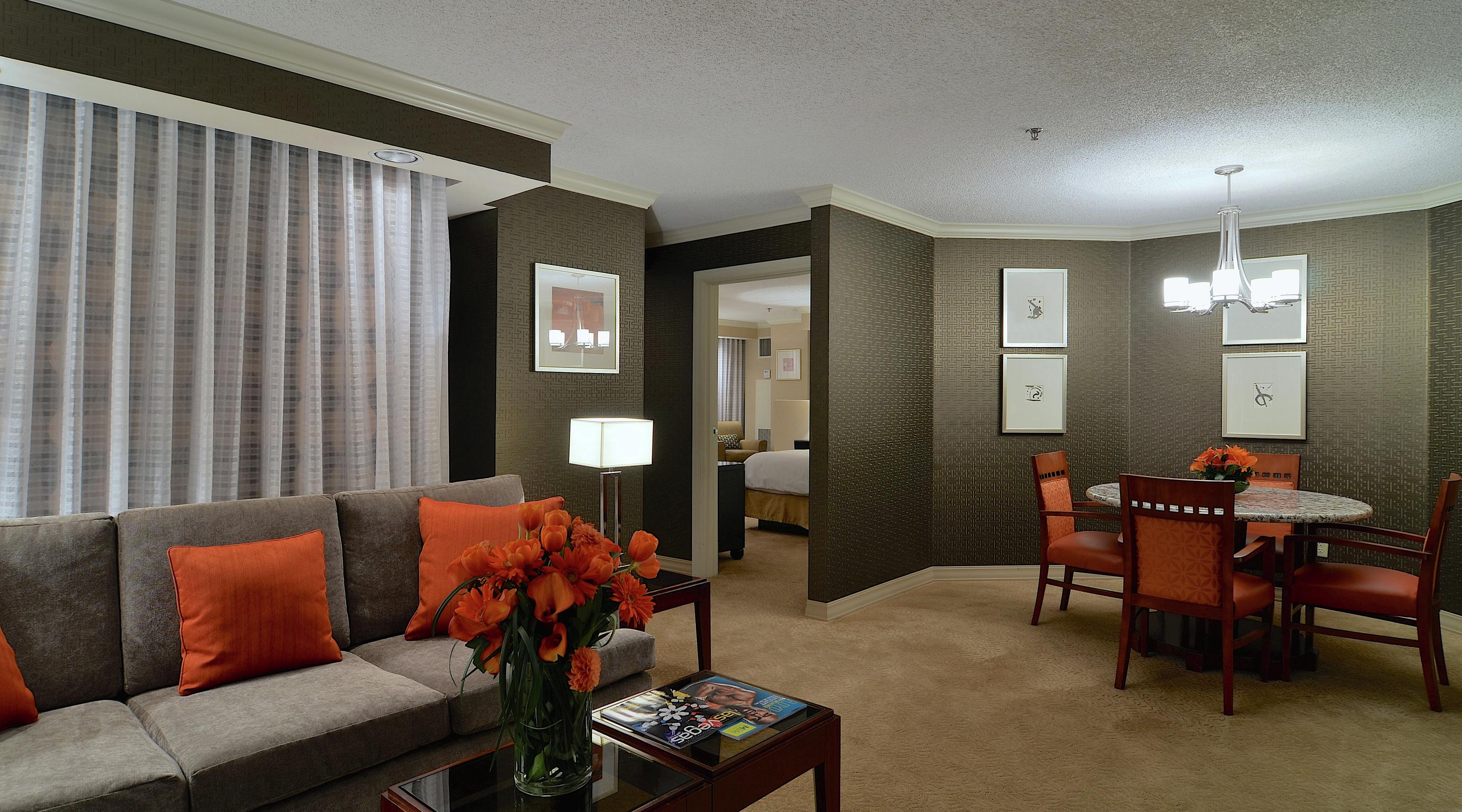 One of New York-New York's newest remodeled rooms featuring elite and modern amenities starting from $205.