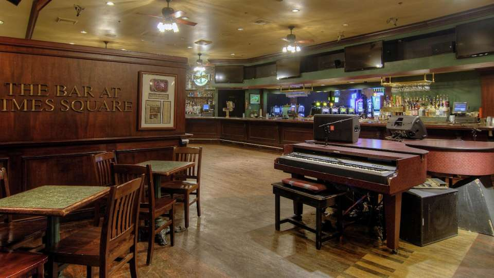 It's like the ultimate neighborhood bar, complete with the No. 1-rated dueling piano show in Las Vegas. Come Thirsty, Be Loud, Stay Late!